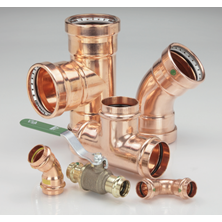 Copper Press System Fittings
