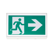 120-347V Self-Powered Exit Pictogram