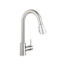 H2flo City kitchen sink faucet with Pull-down spout, 1-handle, Polished Chrome CIT78LCP