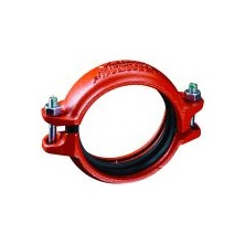 "Firelock Coupling Ductile Iron Painted Grooved 4"" L04009NPE0"