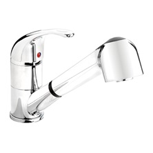 77AC Single Handle Kitchen Faucet with Pull-Out Spout