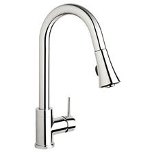 H2flo City One Handle Pull-Down Kitchen Faucet - Polished Chrome - CIT78CP